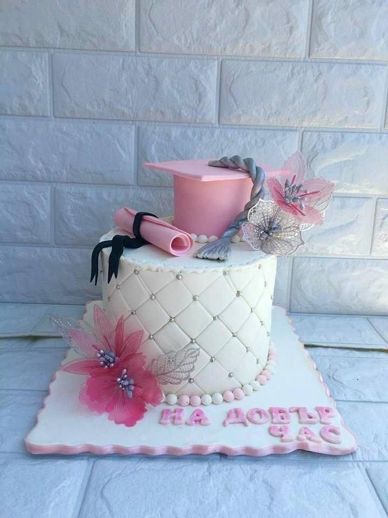 Graduation cake by Ditsan