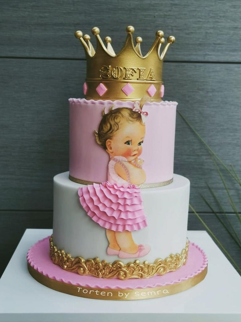 princess 1 th birthday cake by TortenbySemra