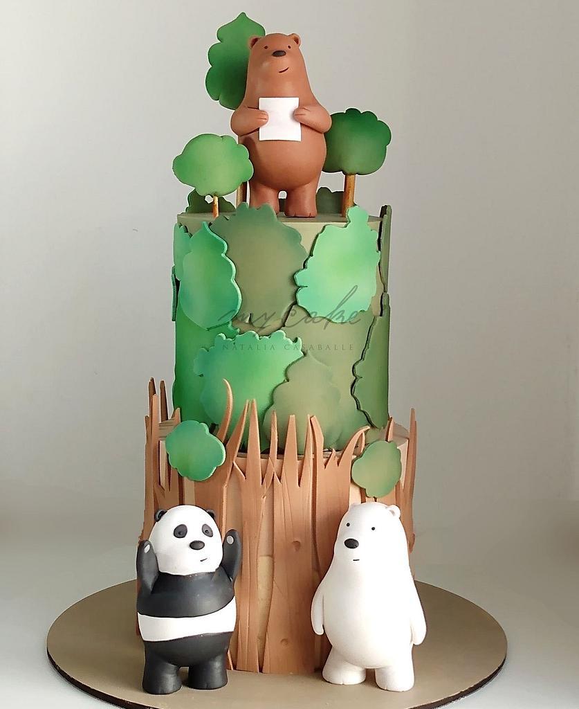 Torta osos  by Natalia Casaballe