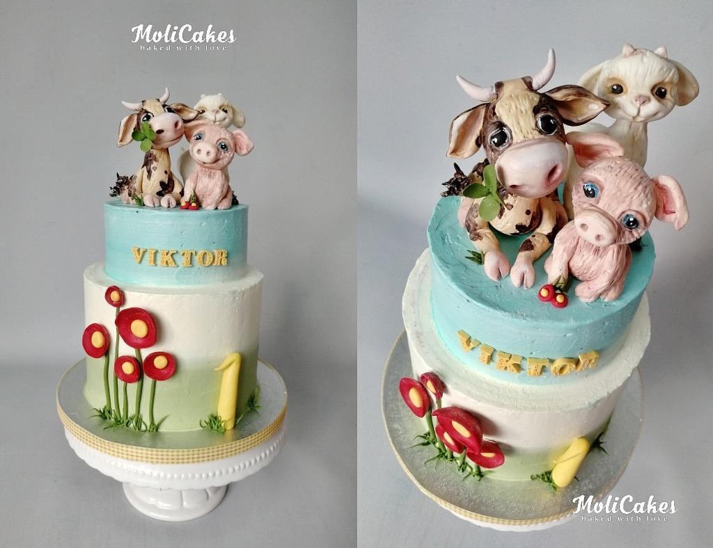 Farm animals  by MOLI Cakes