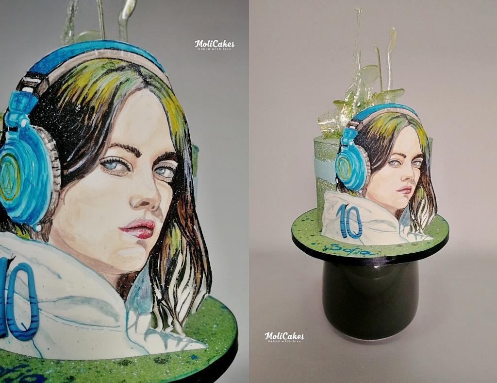Billie Eilish by MOLI Cakes