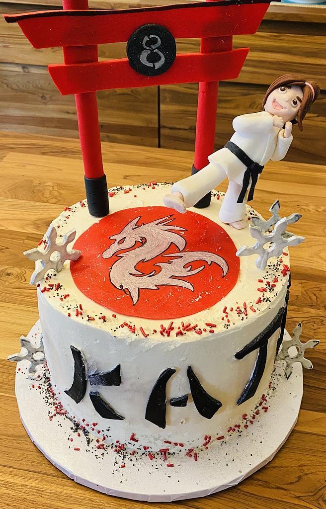 Karate Birthday by MerMade