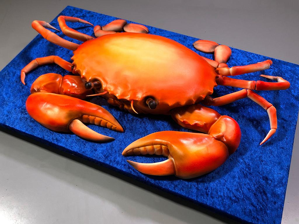 3D Crab Cake by Serdar Yener   Yeners Way - Cake Art Tutorials