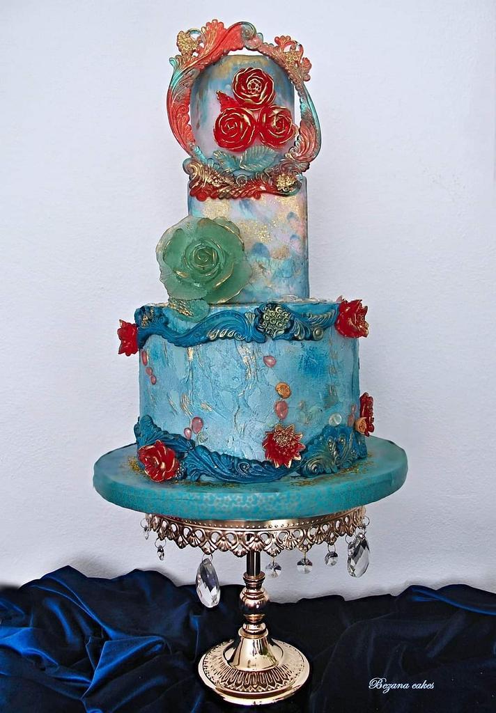 Isomalt cake by Zuzana Bezakova