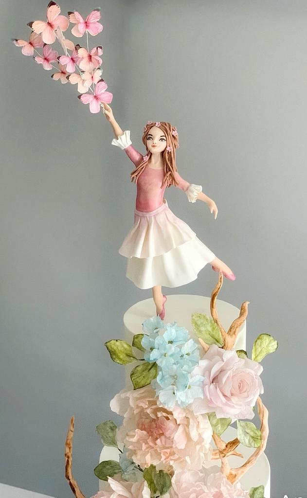 Girl in the garden by Dsweetcakery