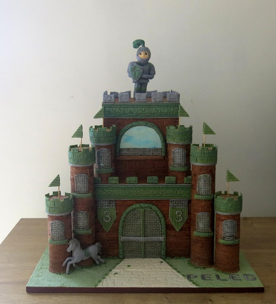 The Knight of the Green Castle by The Garden Baker