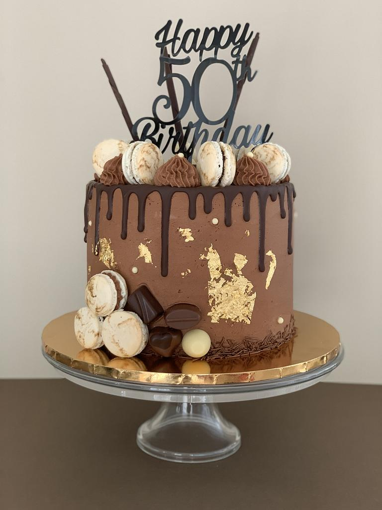 Chocolate drip cake by Penny Sue