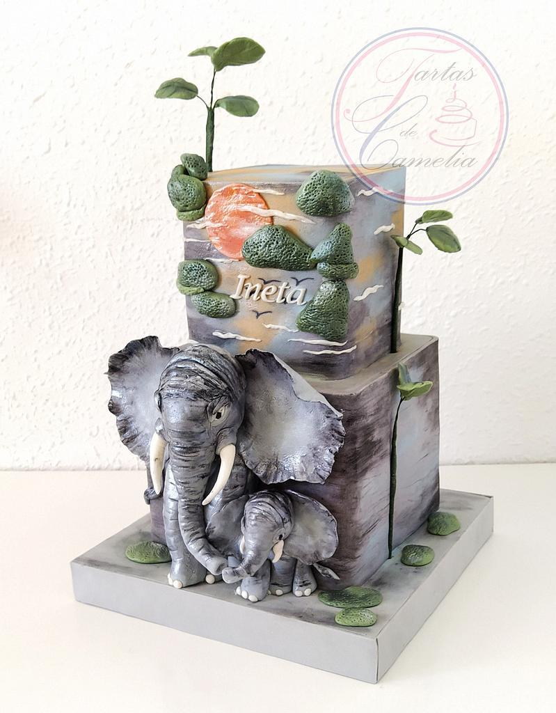 TARTA ALIFANTE  by Camelia