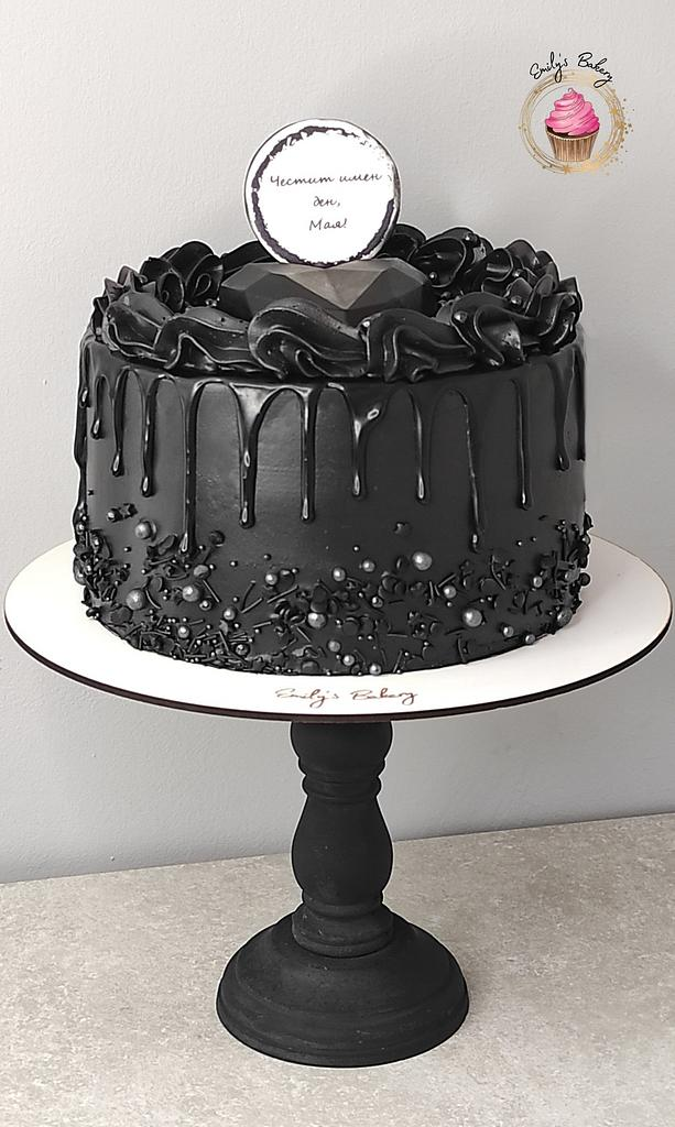 Black pearl by Emily's Bakery