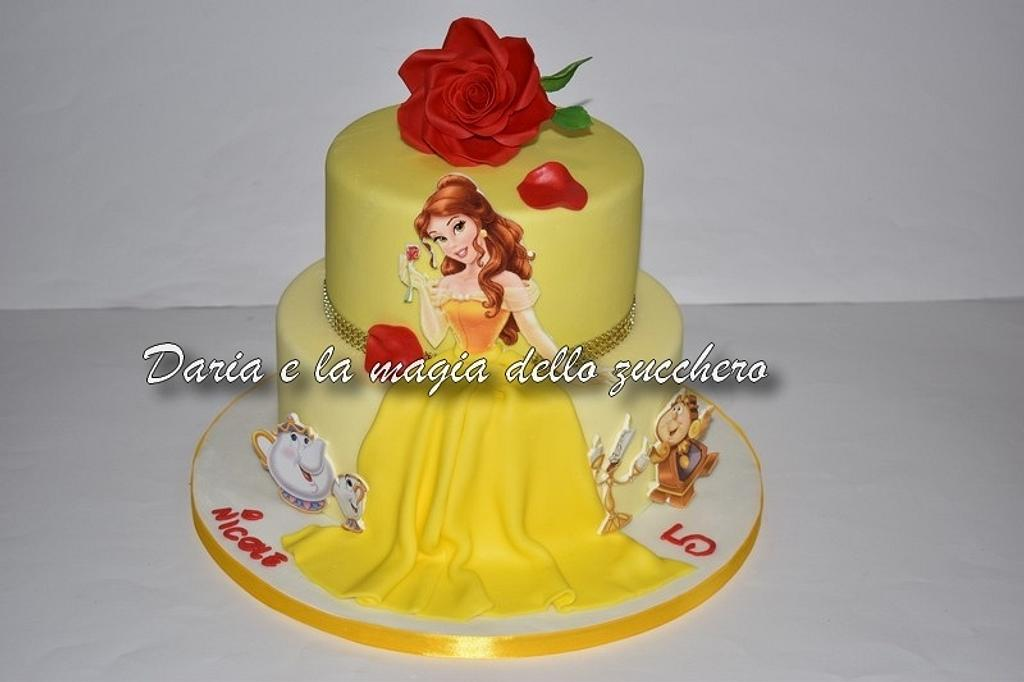 Beauty and the beast cake  by Daria Albanese