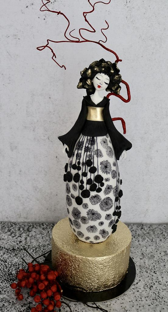 Woman's cake by tomima