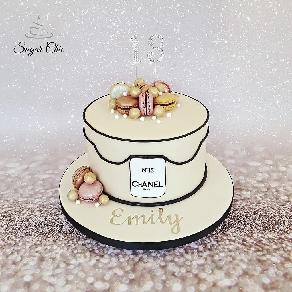 Designer Birthday Cake by Sugar Chic