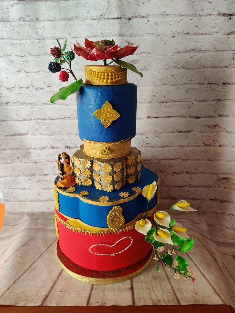 Couture Cake  by Dr RB.Sudha