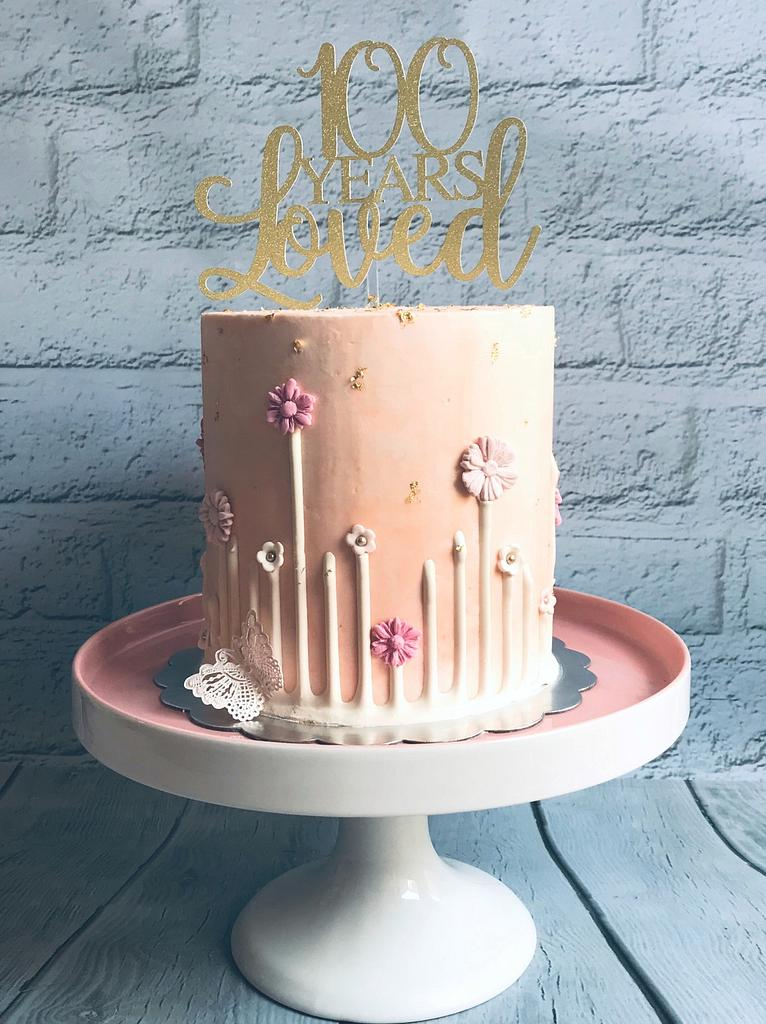 🌷 100 Years Loved 🌷 by Bombshell Bakes