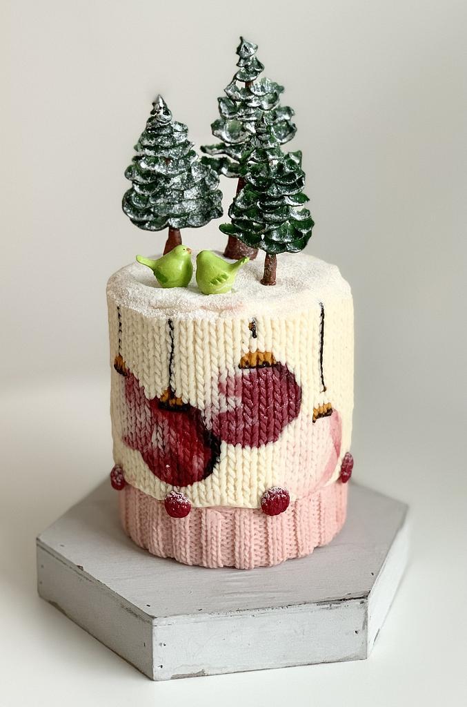 Xmas cake by Agnes Havan-tortadecor.hu