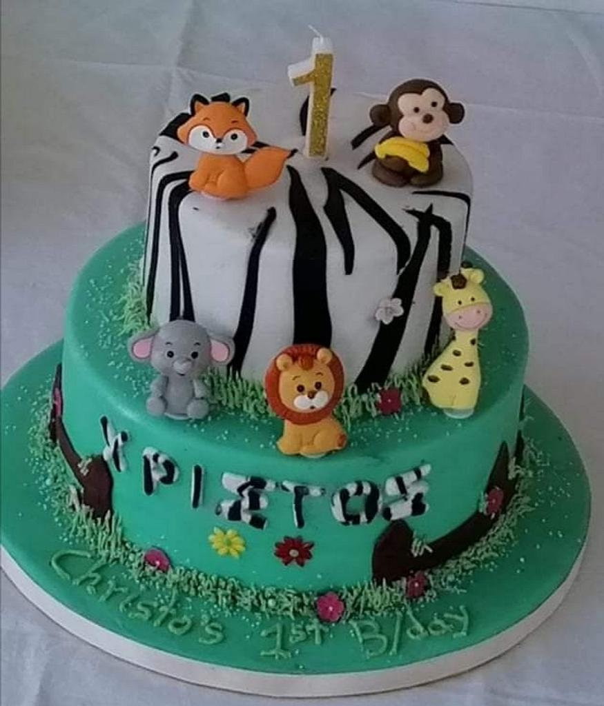 Baby Jungle by Miavour's Bees Cakes