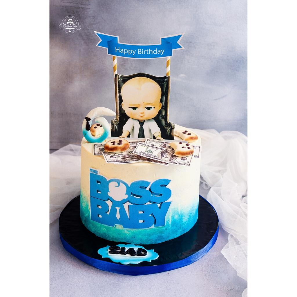 Baby boss cake by Rana Eid