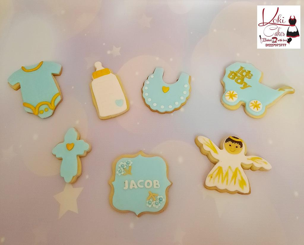 """Baby shower cookies"" by Noha Sami"