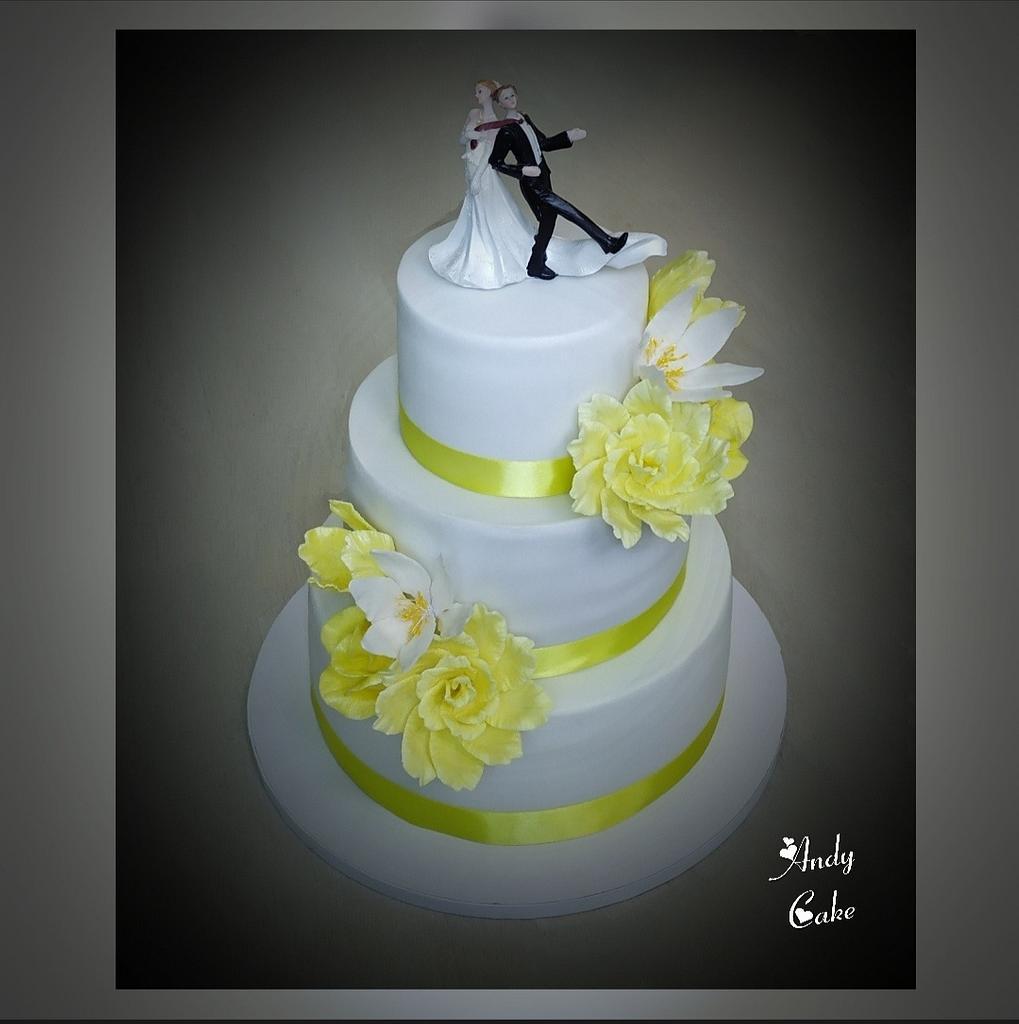 Wedding cake by AndyCake