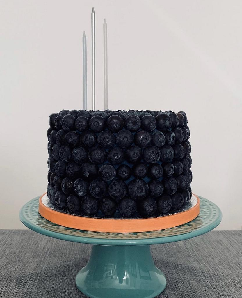 Blueberry Birthday Cake by Sugar by Rachel