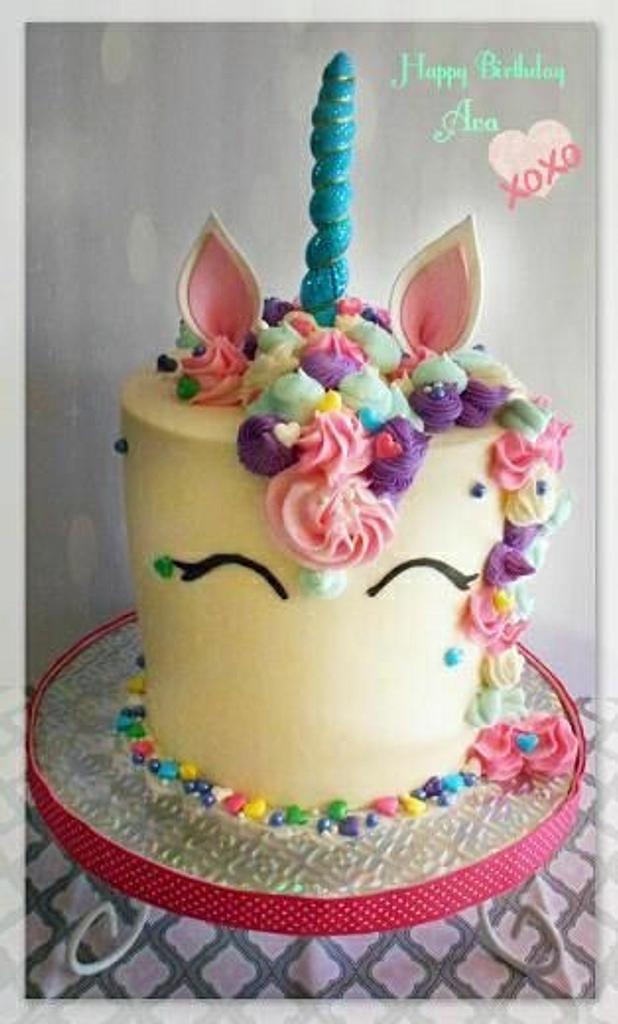 Unicorn Cake by Bethann Dubey