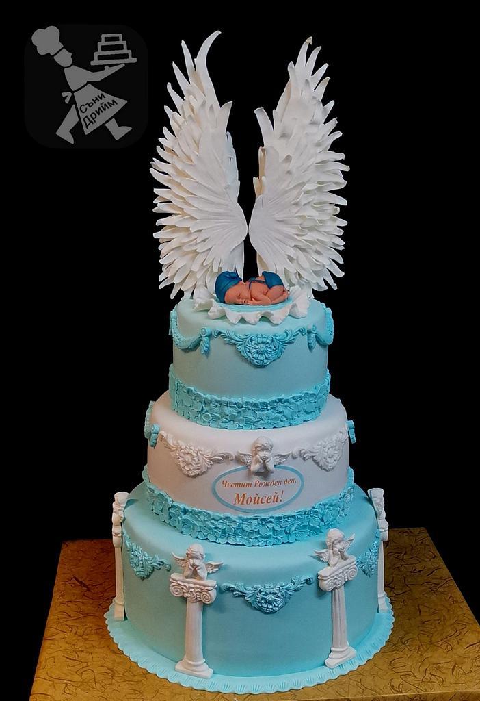 Anjel wings baby cake  by Sunny Dream