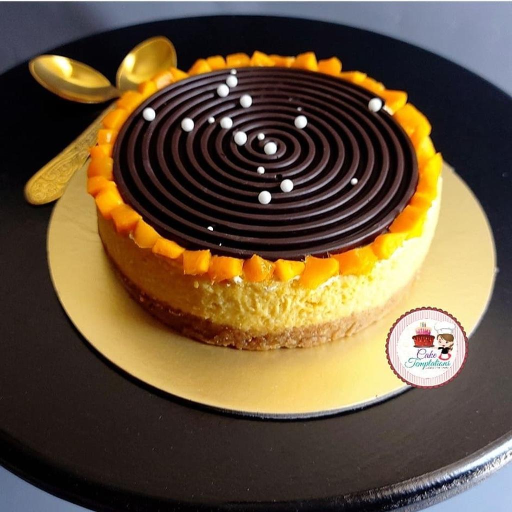 Mango cheesecake  by Cake Temptations