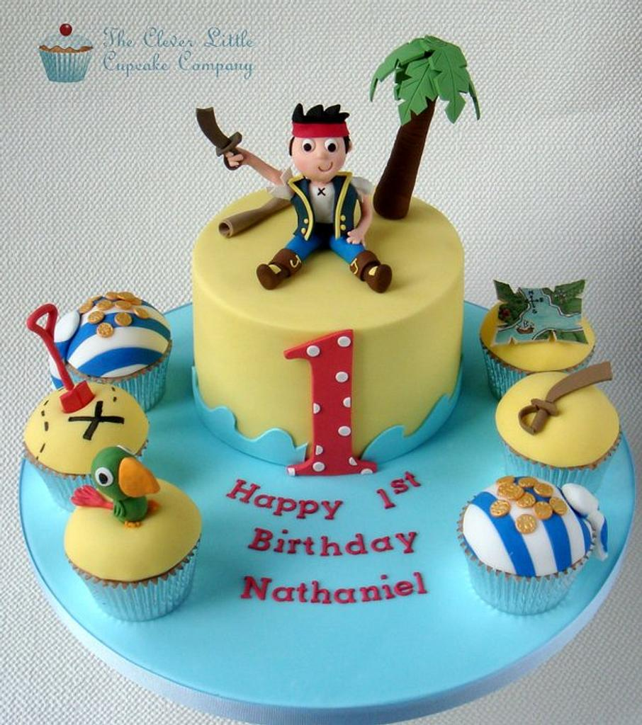 Jake and the Neverland Pirates Cake by Amanda's Little Cake Boutique