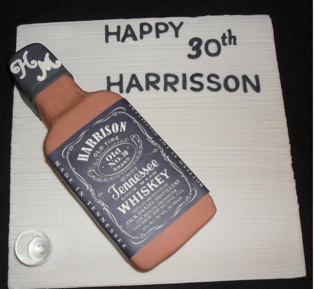 Jack Daniels Cake by Koek Krummels