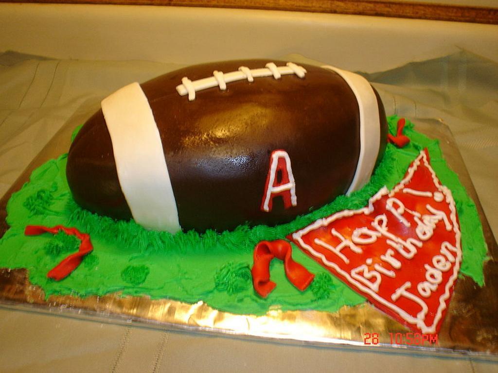 Alabama Football Cake by Dana