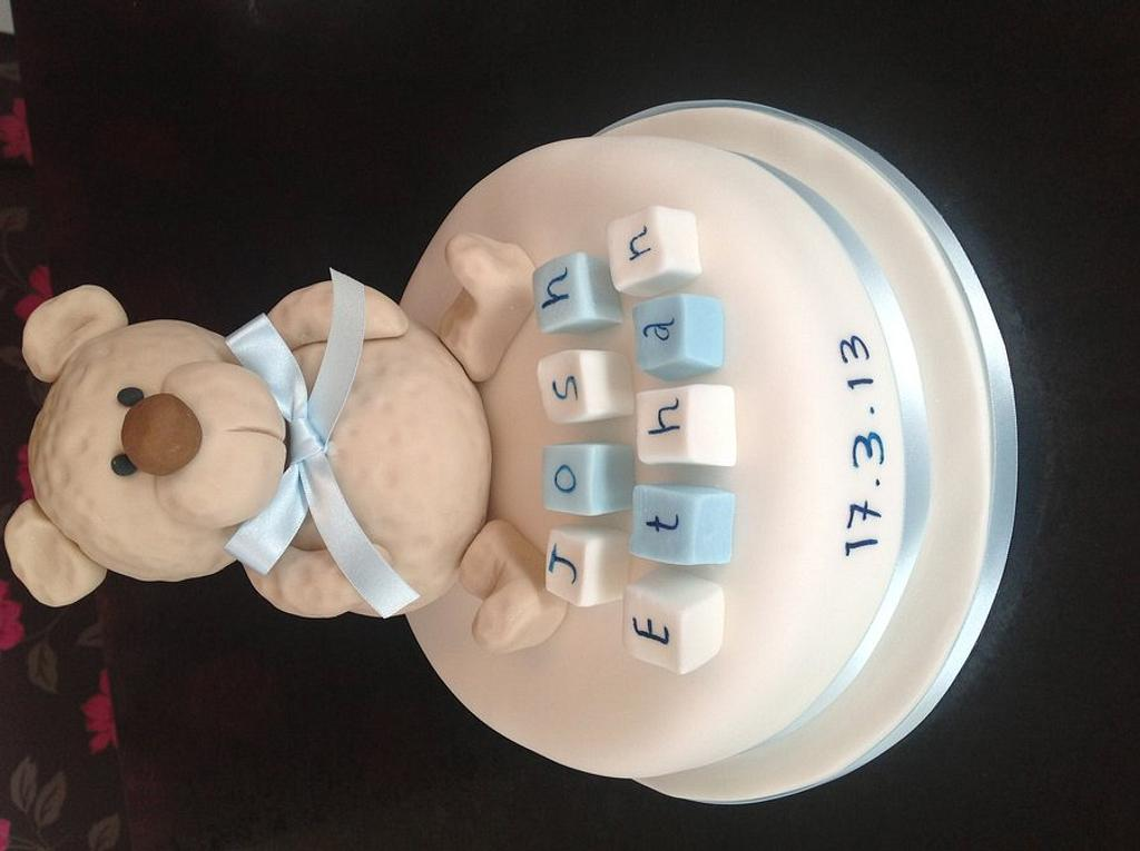 christening Cake by Delicious Cakes