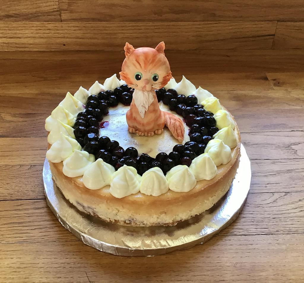 Birthday Cheesecake by Goreti