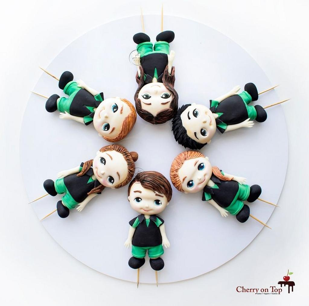 Graduation Cake Toppers by Cherry on Top Cakes