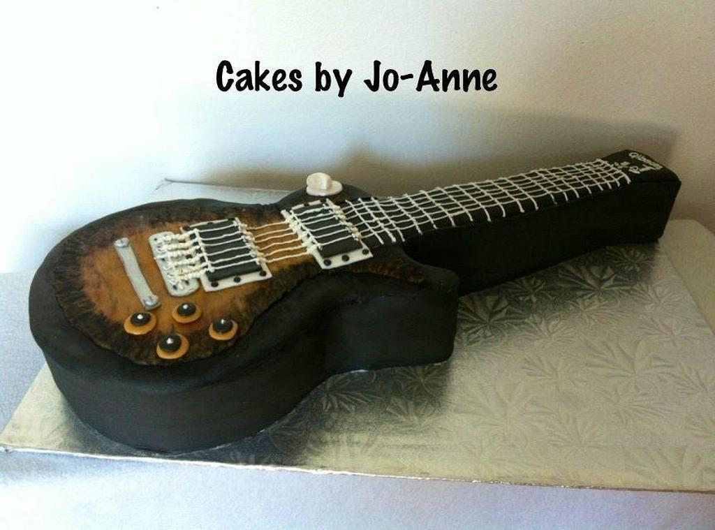 Electric Guitar by Cakes by Jo-Anne