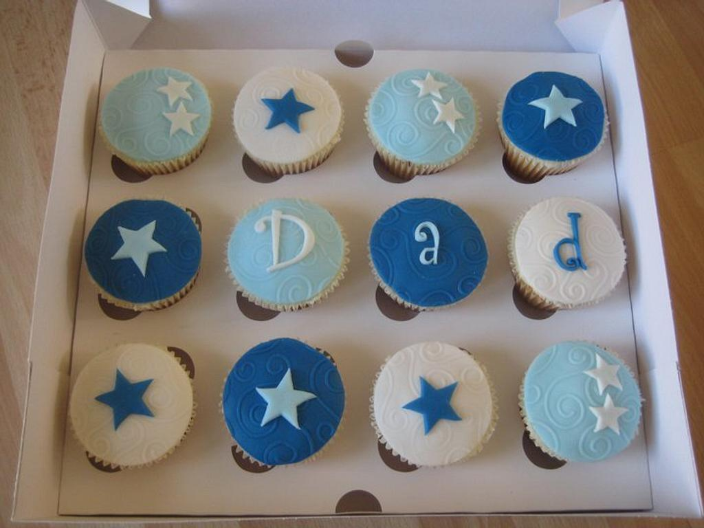 Father's Day Cupcakes by Sugar Sweet Cakes