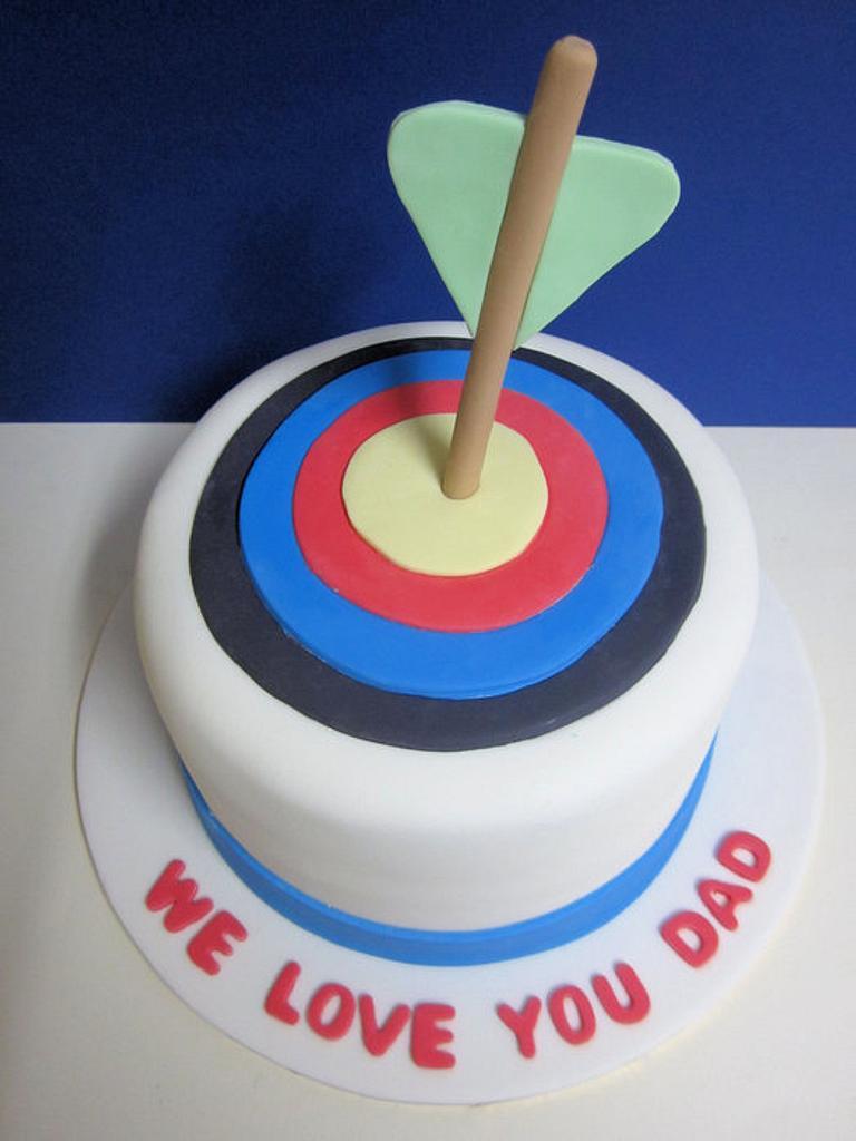 Archery Cake by Lydia Evans