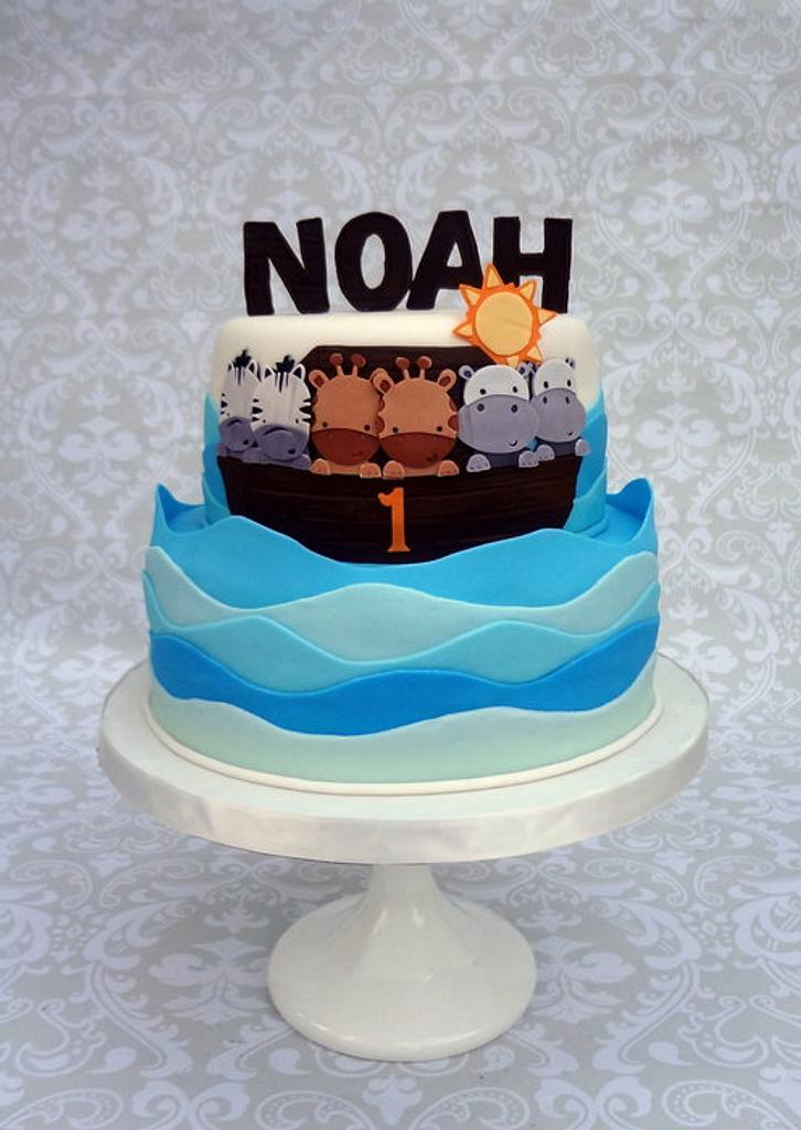Noah's Ark Cake by Lindsey Krist