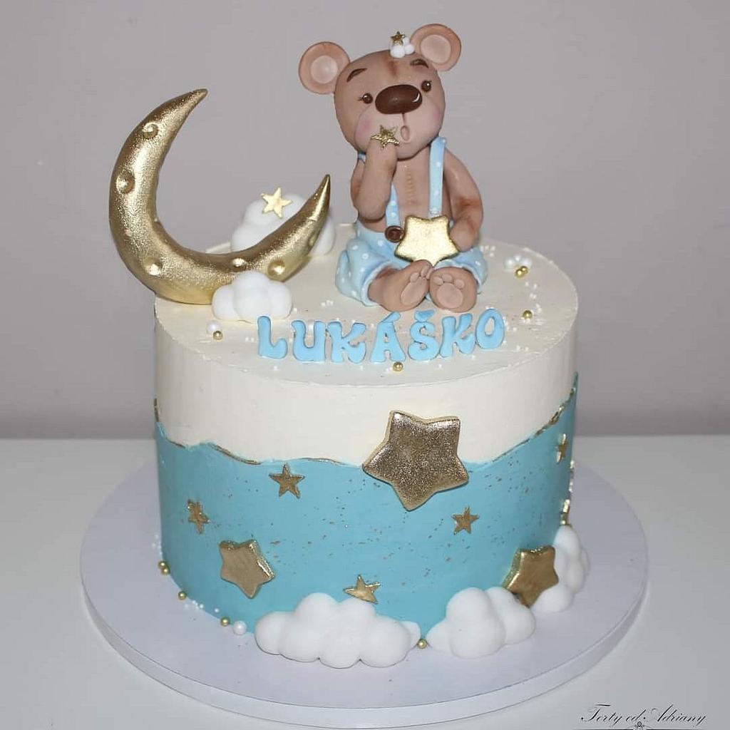 Christening cake by Adriana12
