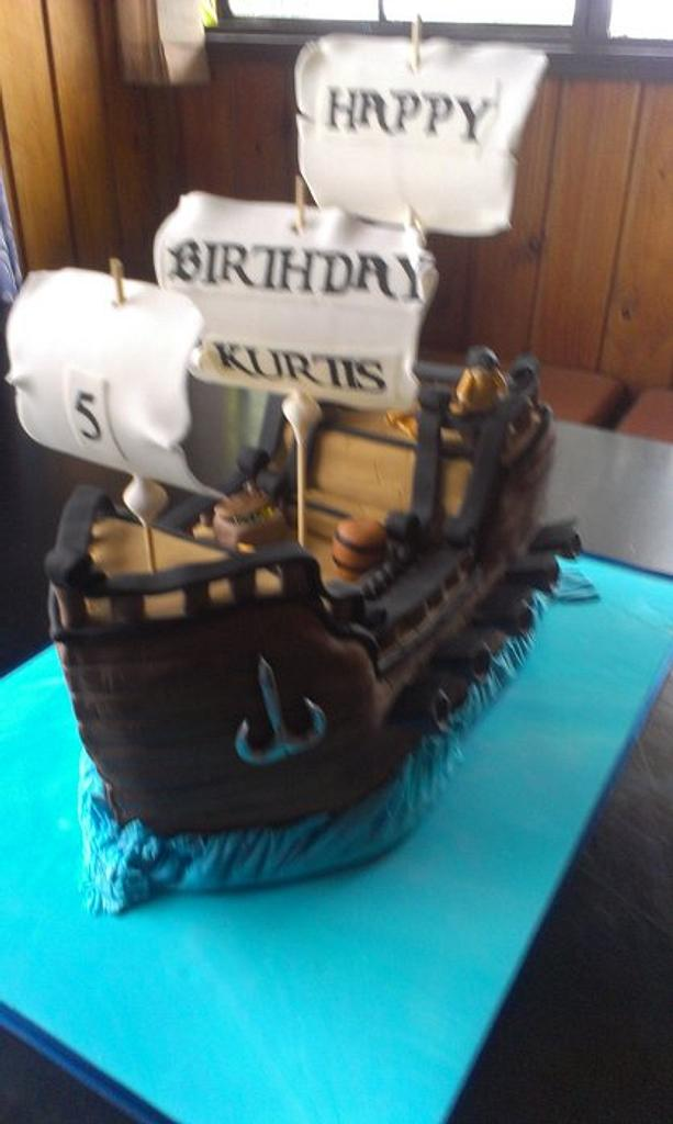 Pirate Ship  by Take The Cake