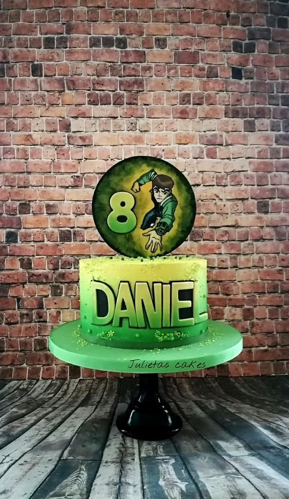 Ben 10 birthday cake by Julieta ivanova Julietas cakes