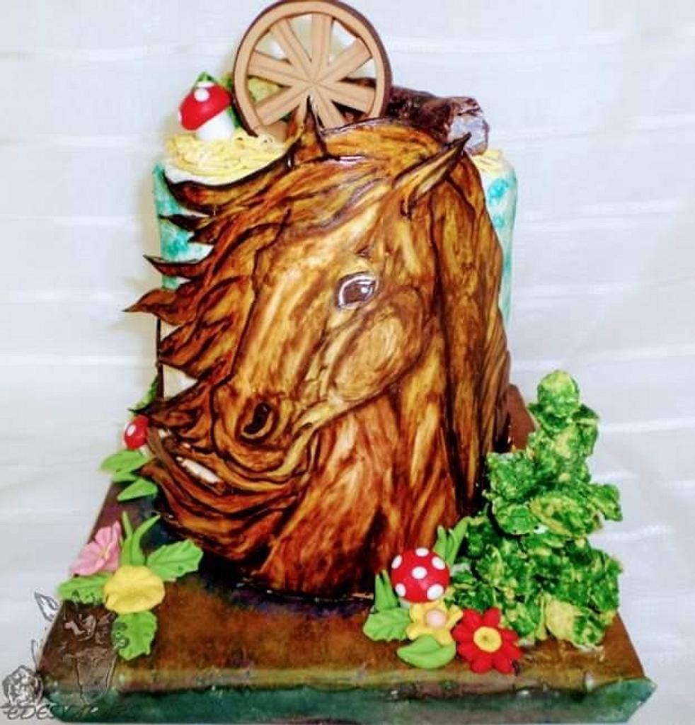 Horse cake 🎂 by Édesvarázs