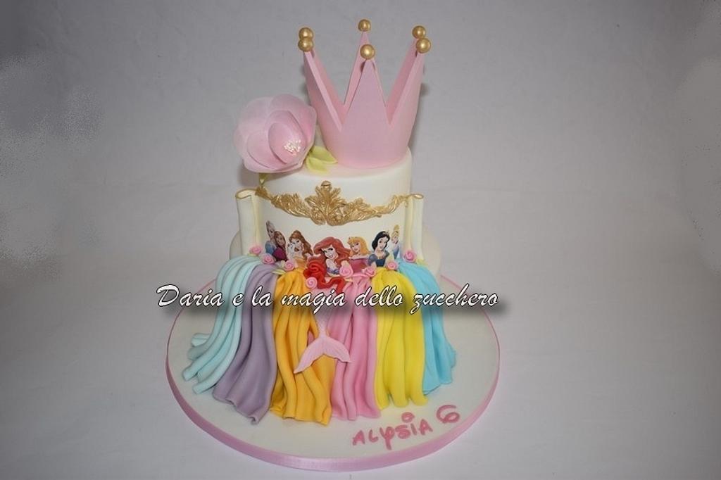 Disney Princesses cake by Daria Albanese
