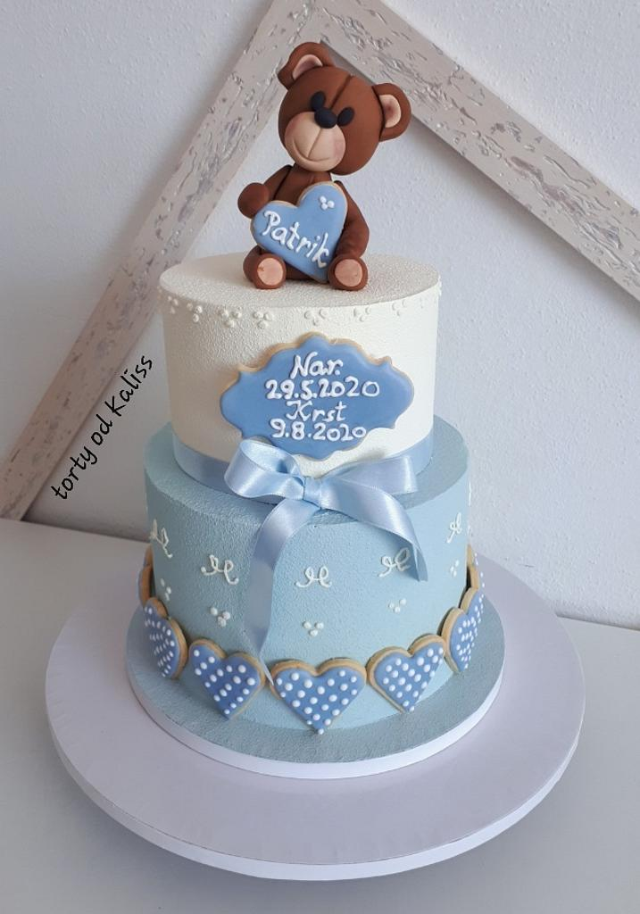 Baptism cake by Kaliss