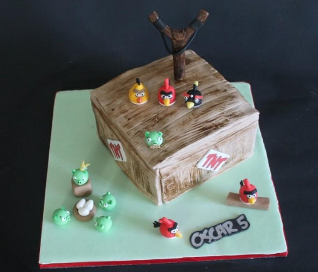 Angry Birds! by Sue