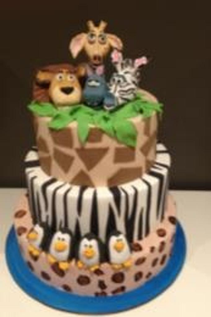 Madagascar Cake by Metro Designer Cakes by Belinda