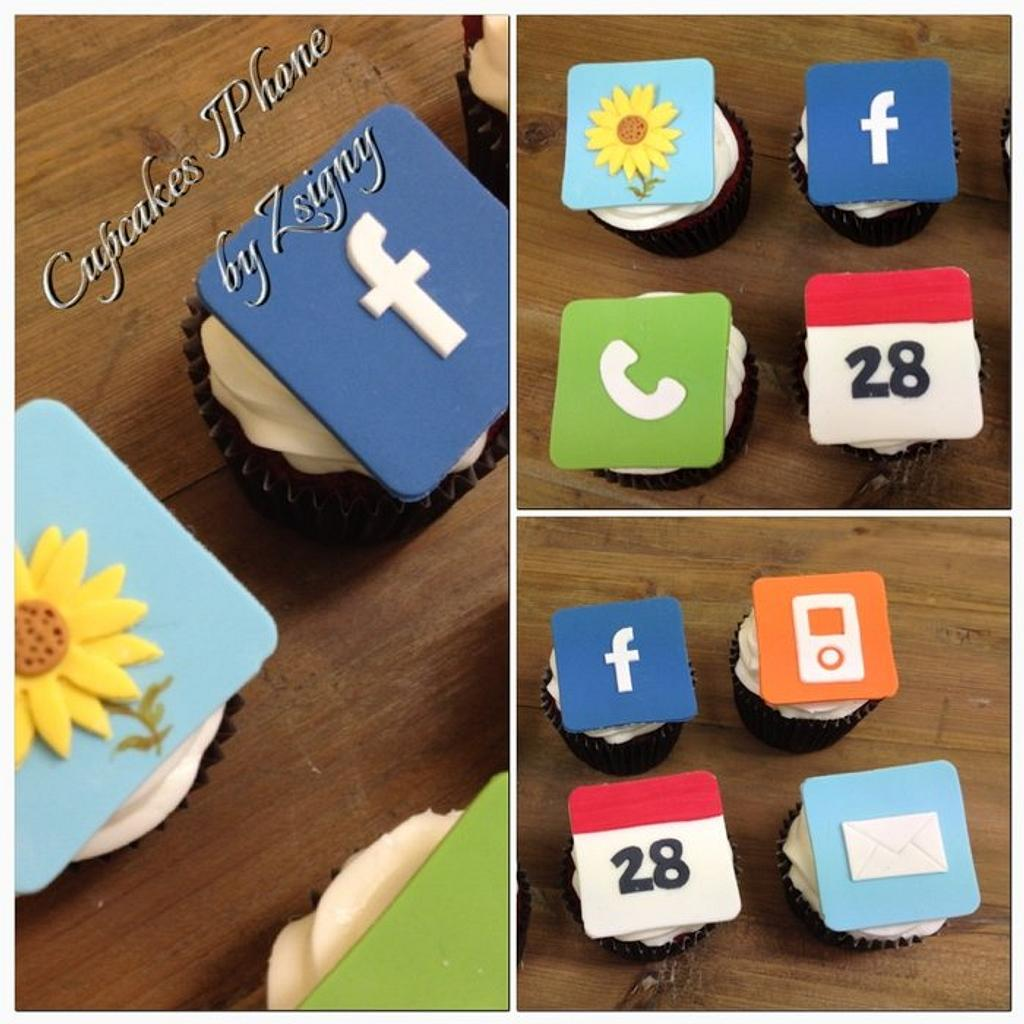 iPhone Cupcakes!!! by Cakes