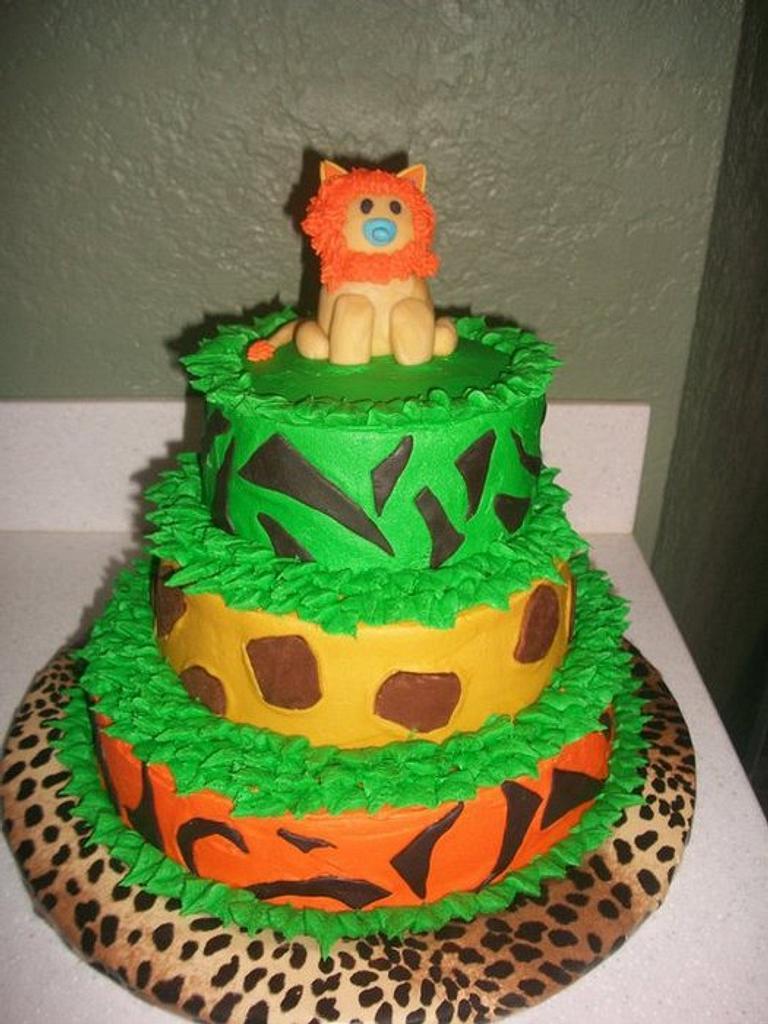 Safari Baby Shower Theme by caymancake