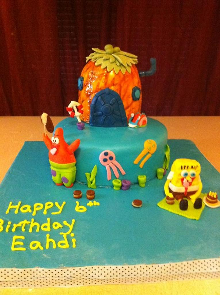 Spongebob Squrepants Cake by Dana