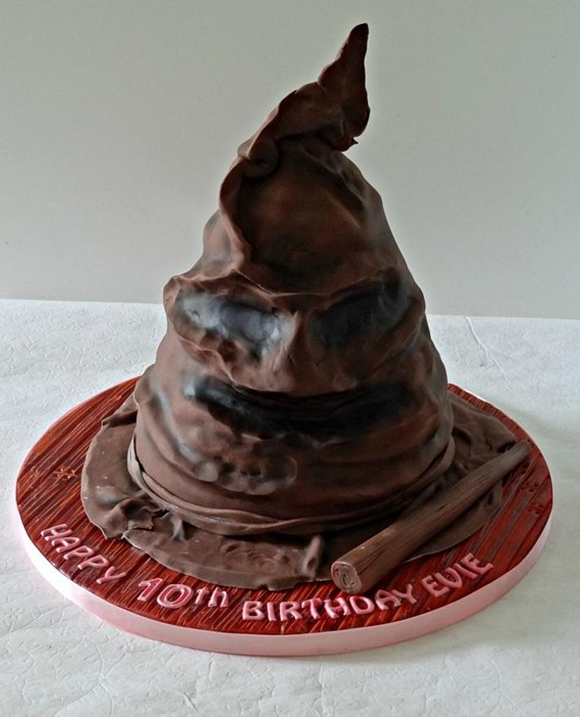 Harry Potter Sorting Hat  by claire mcdonough