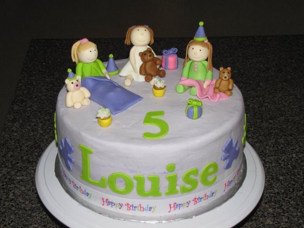 slumber party cake by Deborah